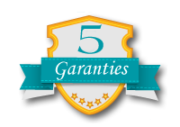 Nos 5 garanties satisfaction